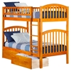 Richland Twin over Twin Bunk Bed - 2 Urban Bed Drawers - ATL-AB6414