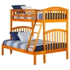Richland Twin over Full Bunk Bed - Ladder - ATL-AB6420