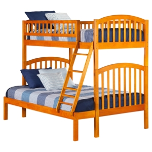 Richland Twin over Full Bunk Bed - Ladder