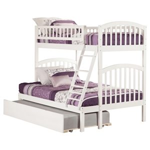 Richland Twin over Full Bunk Bed - Urban Trundle Bed