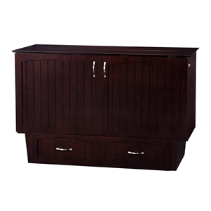 Nantucket Queen Murphy Bed Chest - 1 Drawer