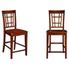 Montego Bay Pub Chair - Wood (Set of 2) - ATL-AD77324