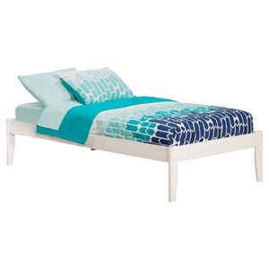 Concord Platform Bed - White