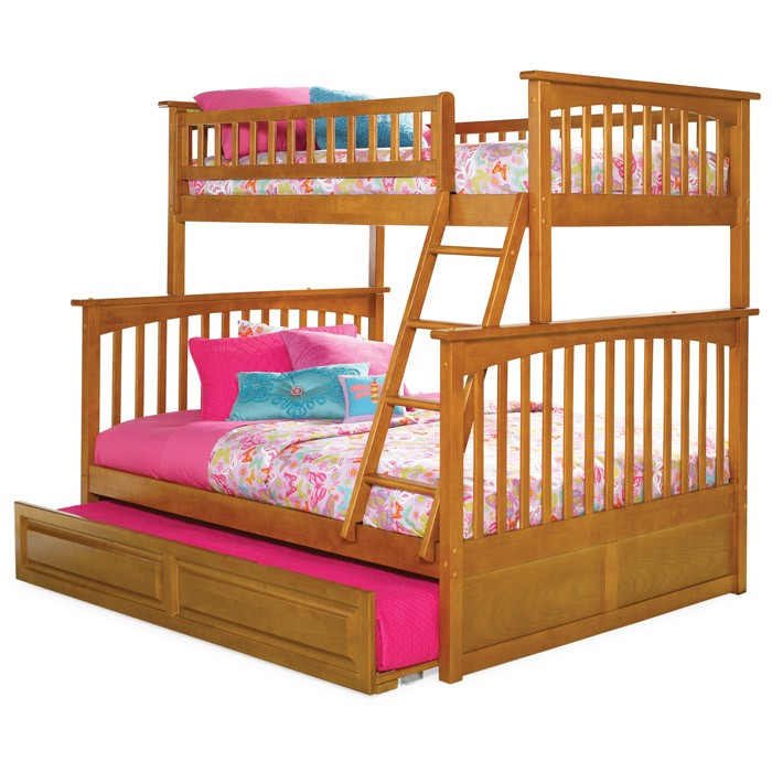 Columbia Twin Over Full Bunk Bed And Trundle Dcg Stores
