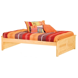 Concord Platform Bed w/ 2 Raised Panel Footboards