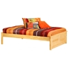Concord Platform Bed w/ Raised Panel Footboard - ATL-CPBRP