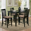 Deco 48 x 36 Solid Top Pub Table w/ Tapered Legs - ATL-DE48X36SPT