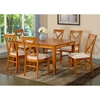 Deco 60 x 42 Modern Dining Table w/ Butterfly Leaf Extension - ATL-DE60X42DTBL
