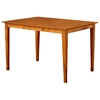 Deco 60 x 42 Modern Pub Table w/ Butterfly Leaf Extension - ATL-DE60X42PTBL