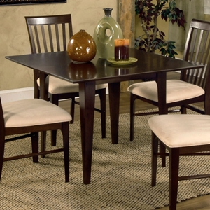 Montreal 39 x 39 Solid Top Contemporary Square Dining Table
