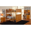 Nantucket Full Size Bunk Bed w/ Beadboard Detail - ATL-AB5950