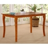 Venetian 60 x 36 Solid Top Pub Table w/ Curved Legs - ATL-VE60X36SPT