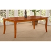 Venetian 60 x 42 Butterfly Extension Dining Table w/ Curved Legs - ATL-VE60X42DTBL