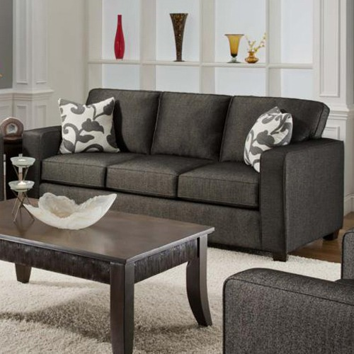 Bergen Talbot Onyx Upholstered Sleeper Sofa