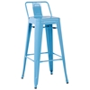 Carlson Low Back Outdoor Bar Stool - Steel
