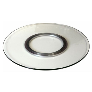 Maddox Round Glass Spinning Tray (Lazy Susan)
