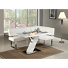 Linden Rectangular Dining Table - Gloss White - CI-LINDEN-DT