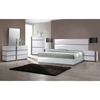 Manila Contemporary Bedroom Chest - Glossy White, 5 Drawers - CI-MANILA-CHT