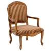 Franklin Striped Chenille Accent Chair - CP-100-02