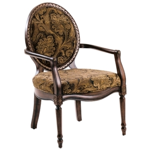 Madison Paisley Chenille Accent Chair