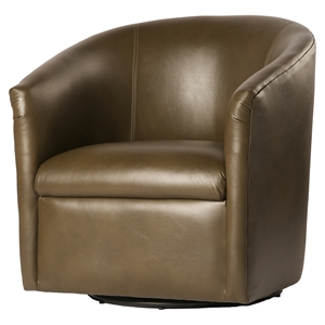 Draper Swivel Chair - Mink