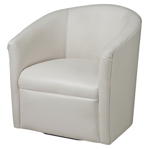 Draper Swivel Chair - Milky