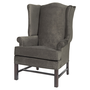 Chippendale Wing Chair - Ash