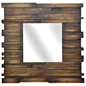 Flagstaff Mirror with Wood Frame