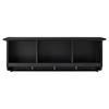 Brennan Entryway Storage Shelf - Black - CROS-CF6004-BK
