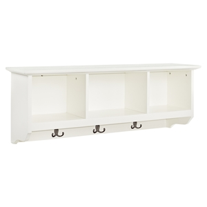 Brennan Entryway Storage Shelf - White