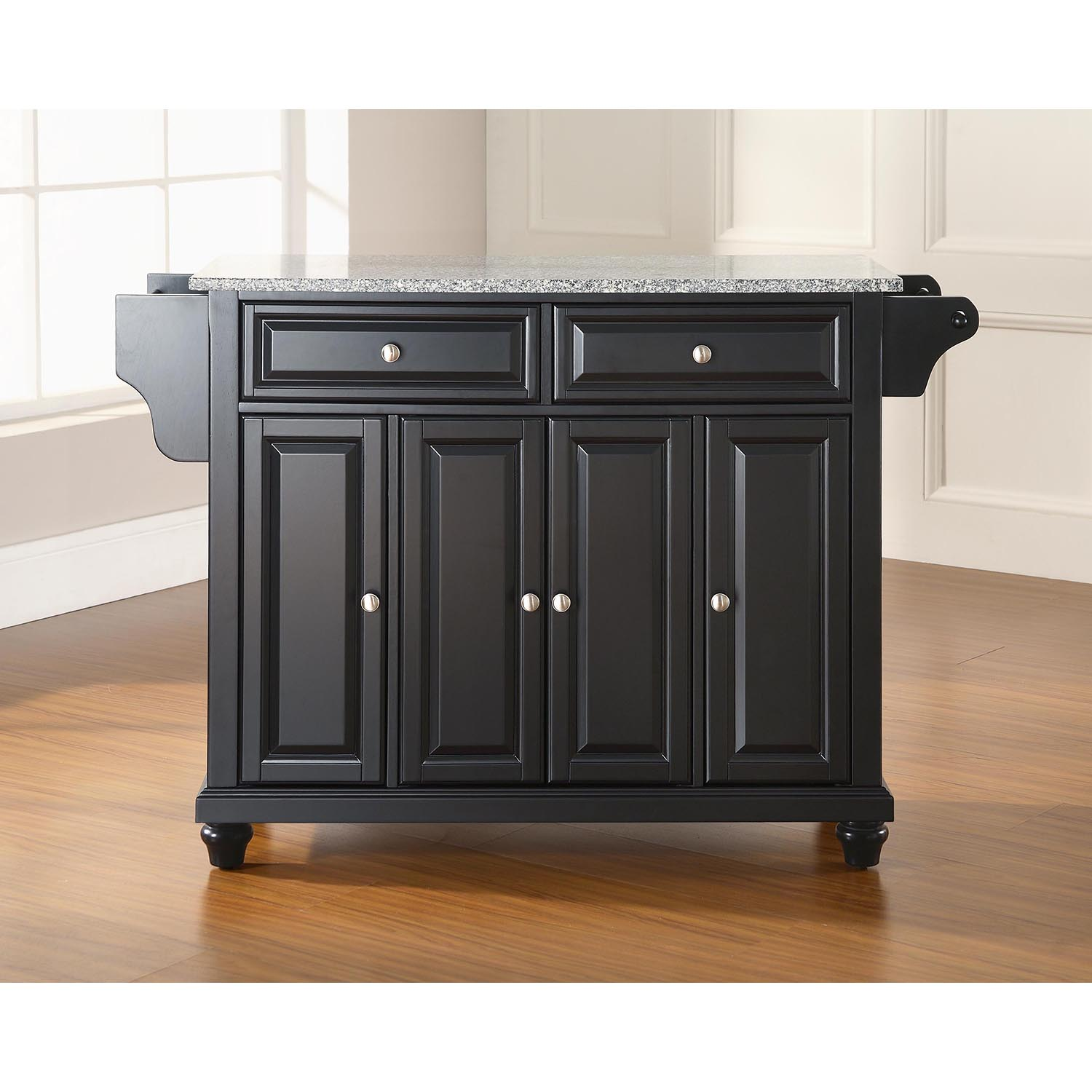 black granite top kitchen island cambridge solid granite top kitchen island black dcg 7877