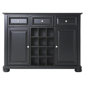 Alexandria Buffet Server / Sideboard Cabinet - Black