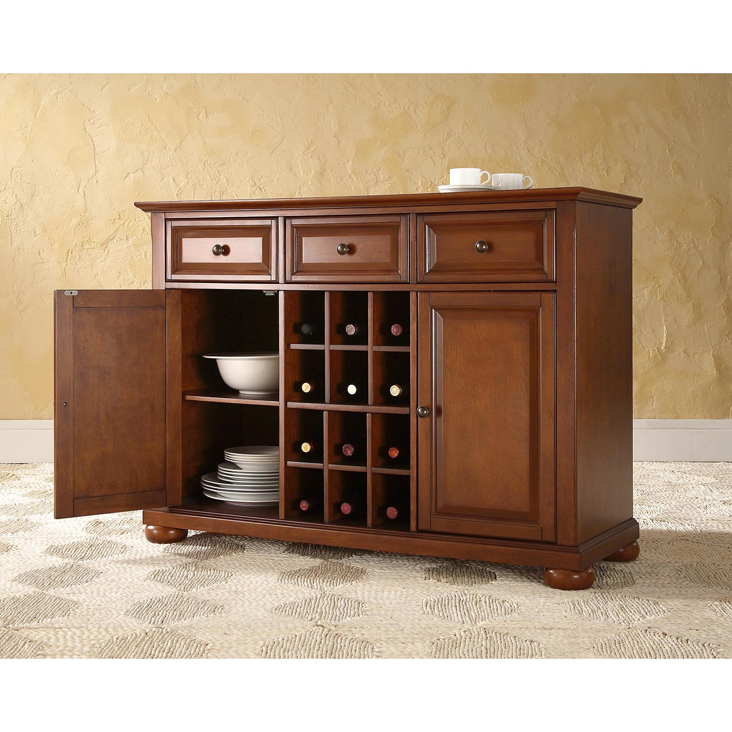 Alexandria Buffet Server / Sideboard Cabinet - Classic ...