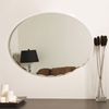 Modern Oval Frameless Wall Mirror - DWM-SSM3002