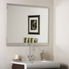 Large Brushed Border Wall Mirror - DWM-SSM5