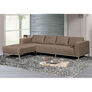 Dresden Gray Sectional Sofa with Left Facing Chaise