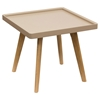 Cafe Square End Table - Taupe - DS-CAFEETTA