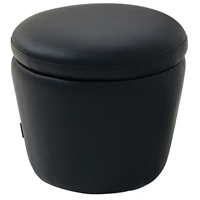 Dcg Stores Buy Storage Ottomans Round Pouf Coffee