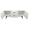 Mode Sideboard - 2 Doors, 2 Drawers, White - DS-MODEBUFFET