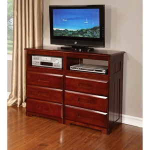 Entertainment Dresser - Merlot