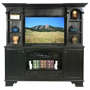 American Premiere Entertainment Unit - Molding, Bead Board