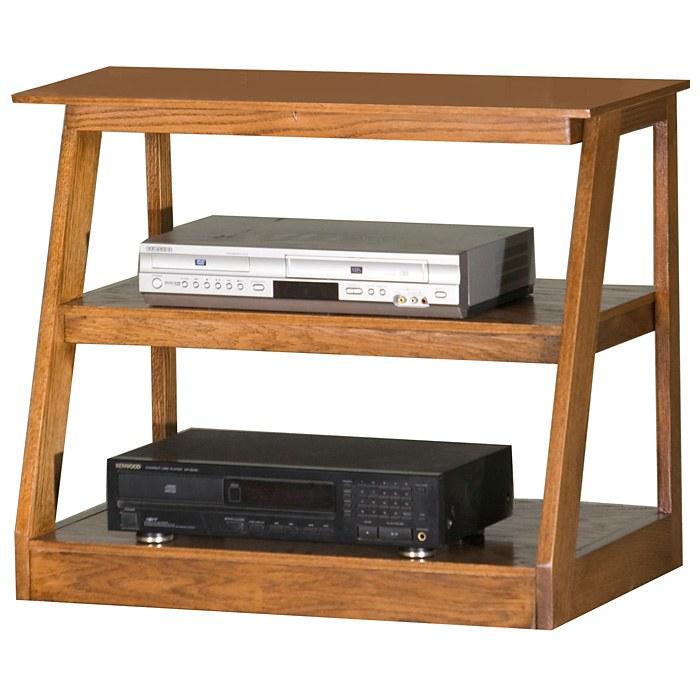 Adler 30 Oak Wood Tv Stand Open Back Egl