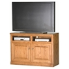 "Classic Oak 45"" TV Cabinet - 2 Shelves, 2 Doors - EGL-46844"