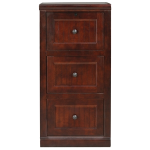 Coastal 3-Drawer File Cabinet - Locking Drawer