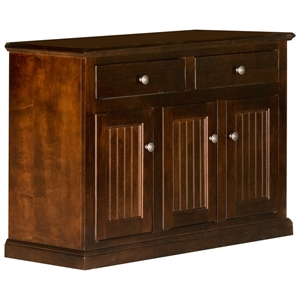 "Coastal 47"" Buffet Cabinet - 2 Drawers, 3 Doors"