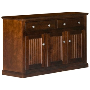 "Coastal 51"" Buffet Cabinet - 2 Drawers, 3 Doors"