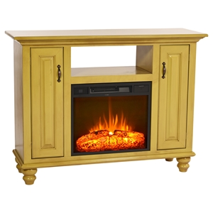 "52"" Orleans Electric Fireplace TV Console - 2 Doors"