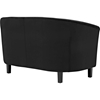 Prospect Velvet Loveseat - Button Tufted, Espresso Legs - EEI-2615-LS