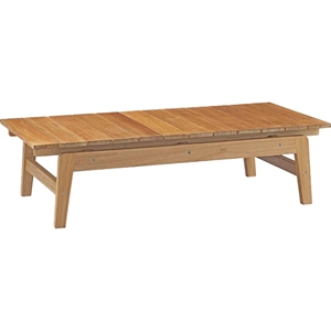 Bayport Outdoor Patio Coffee Table - Natural