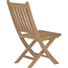 Marina Outdoor Patio Folding Chair - Natural - EEI-2702-NAT